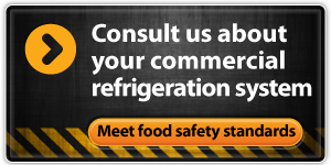 Consult us about your commercial refrigeration system